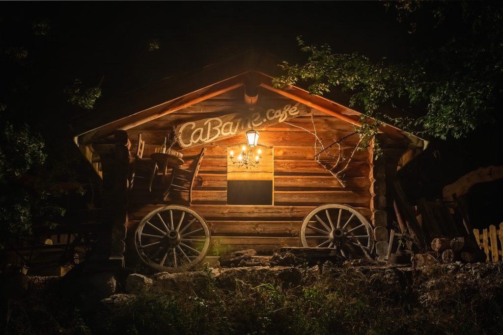 restaurant insolite vercors Cabane Café