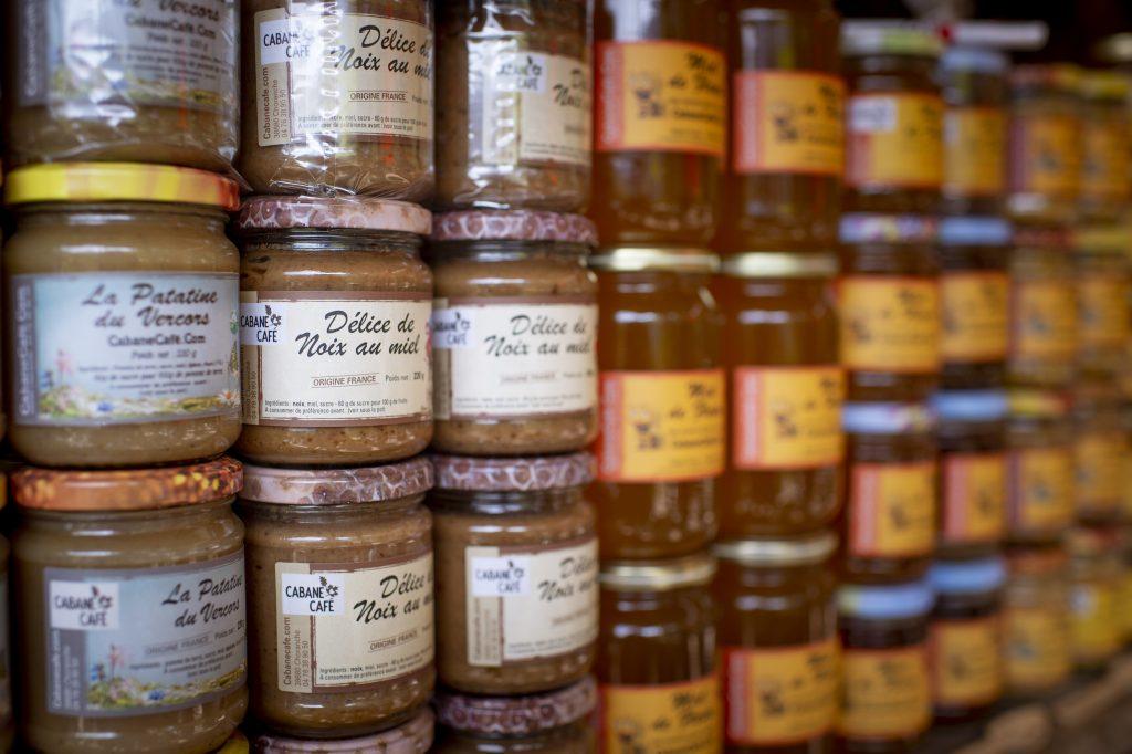 Cabane Café, produits locaux vercors