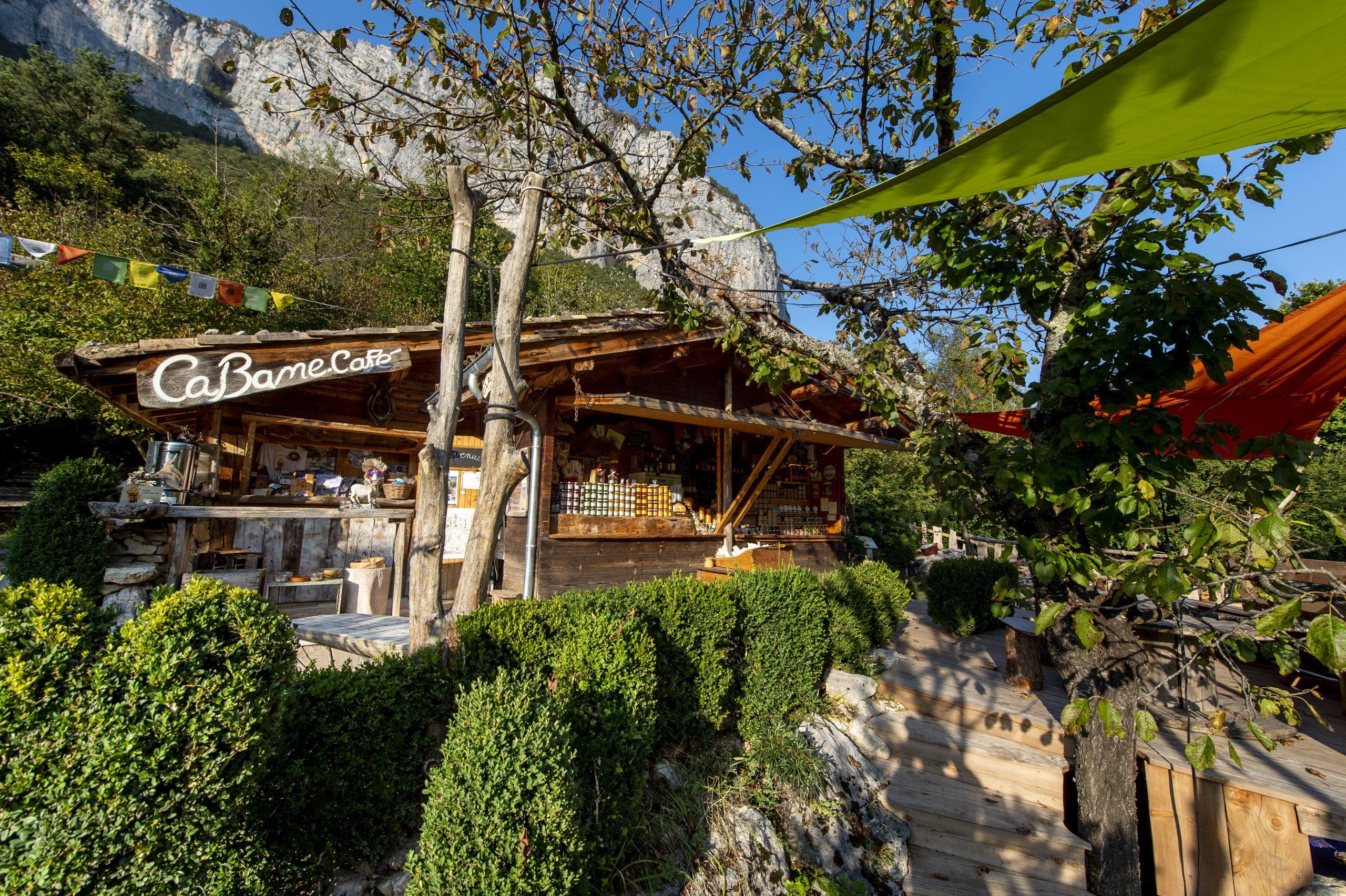 Cabane Café, restaurant produit bio vercors choranche